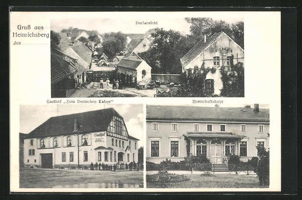 Heinrichsberg Gasthof zum Deutschen Kaiser