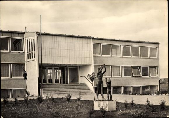 Ansichtskate Zielitz Schule