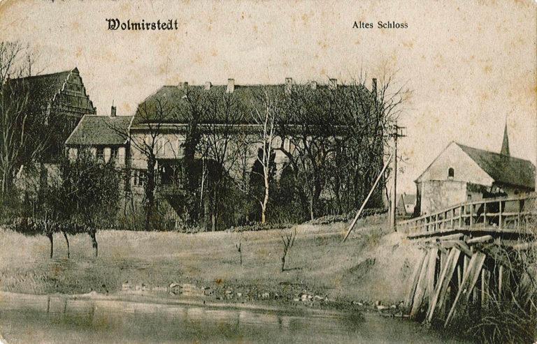 Alte Postkarte Schlossdomaene Wolmirstedt 1 768x493